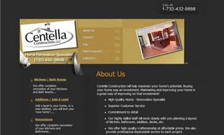 Sample Construction Website