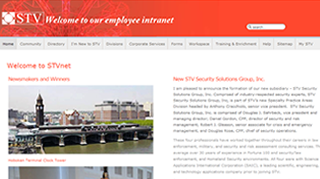 STVNET - Intranet site