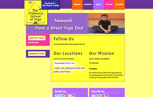 The Children's School of Yoga - Rockland